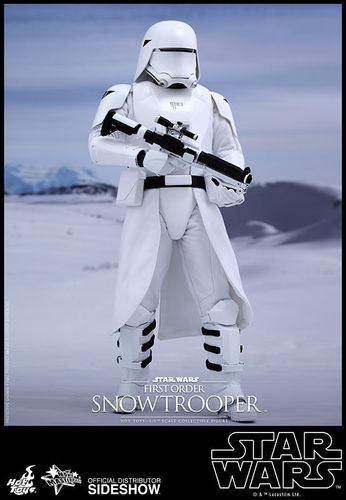 STAR WARS - MMS321 First Order Snowtrooper Actionfigur SIDESHOW 1:6 Neu (L)