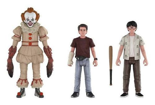 Stephen King IT Es 2017 Pennywise Richie Eddie Actionfigur Set FUNKO Neu (KA10)