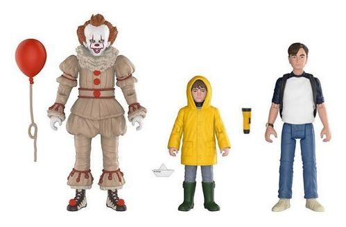 Stephen King IT Es 2017 Pennywise Bill Georgie Actionfigur Set FUNKO Neu (KA10)