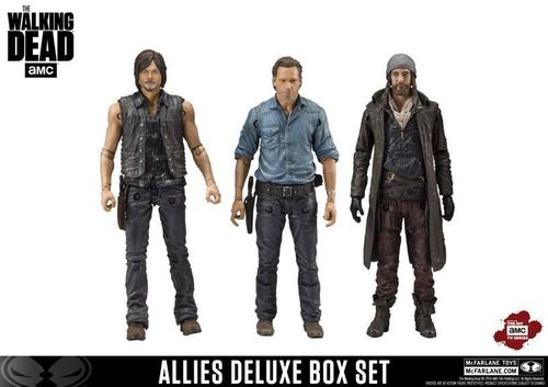 The Walking Dead TV Version 3er-Pack Daryl Rick Jesus McFARLANE  25cm  (KA8) *