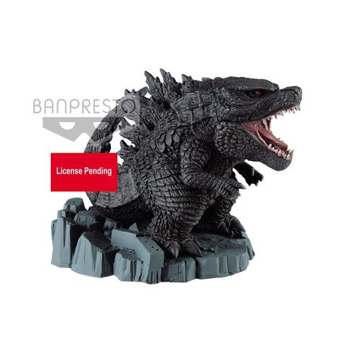 Godzilla King of the Monsters PVC Deforme Statue A Godzilla 9cm Banpresto (KA)I*